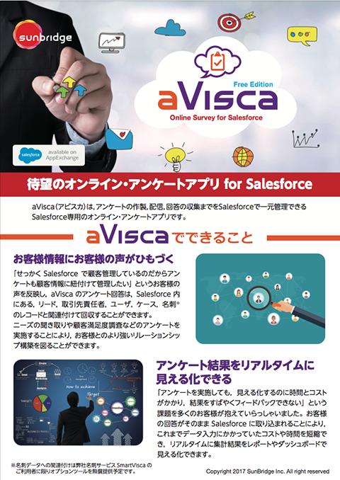 aVisca(アビスカ)製品紹介