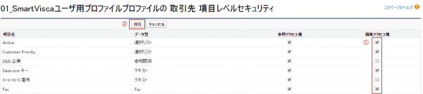 SVプロファイル保存
