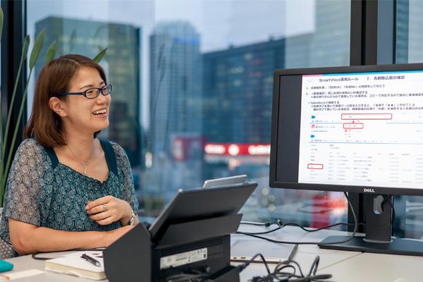 「SmartViscaはSalesforceで名刺管理をする運用負担を大きく削減します」(佐藤 氏)